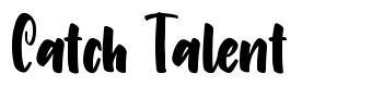 Catch Talent font