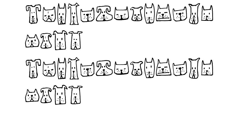 Cats and Dogs font