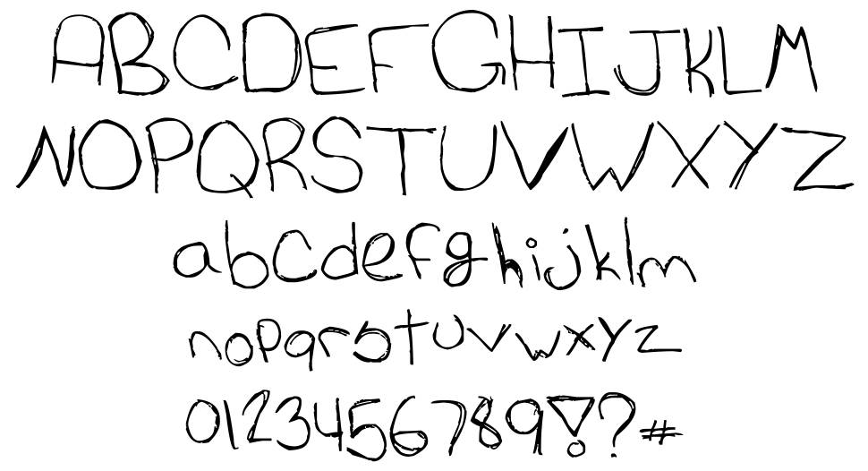 Cat's Awesomely Awesome Font font