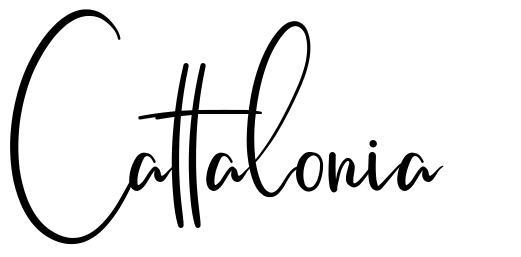 Cattalonia шрифт