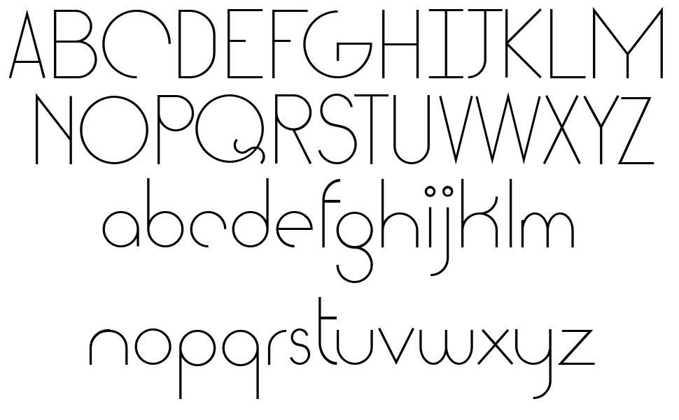 Cattia font