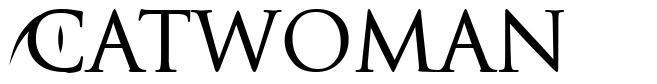 Catwoman font