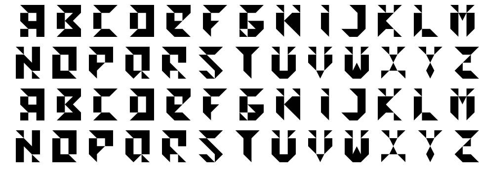 Cedge 1 font