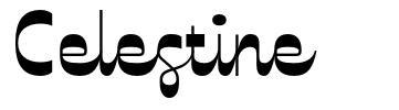 Celestine шрифт