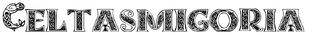 Celtasmigoria 字形