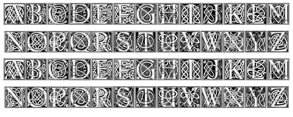 Celtic Eels font