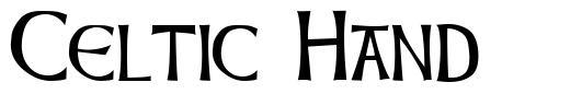 Celtic Hand 字形