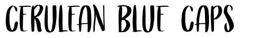 Cerulean Blue Caps