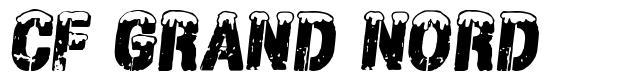CF Grand Nord font