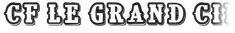 CF Le grand cirque