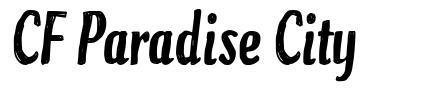 CF Paradise City font