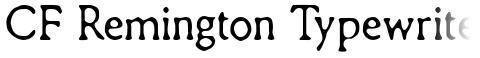 CF Remington Typewriter