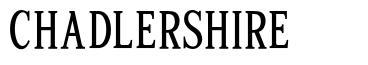 Chadlershire font