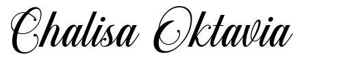 Chalisa Oktavia font