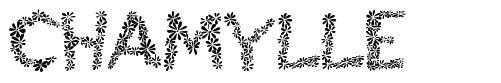 Chamylle font