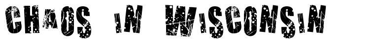 Chaos in Wisconsin font