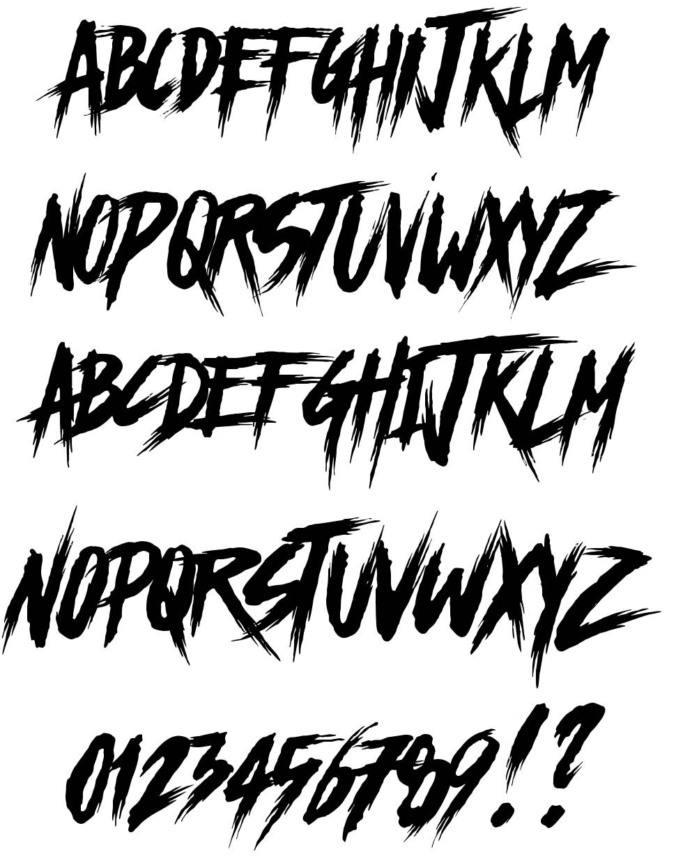 Chapters font