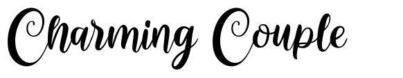 Charming Couple 字形