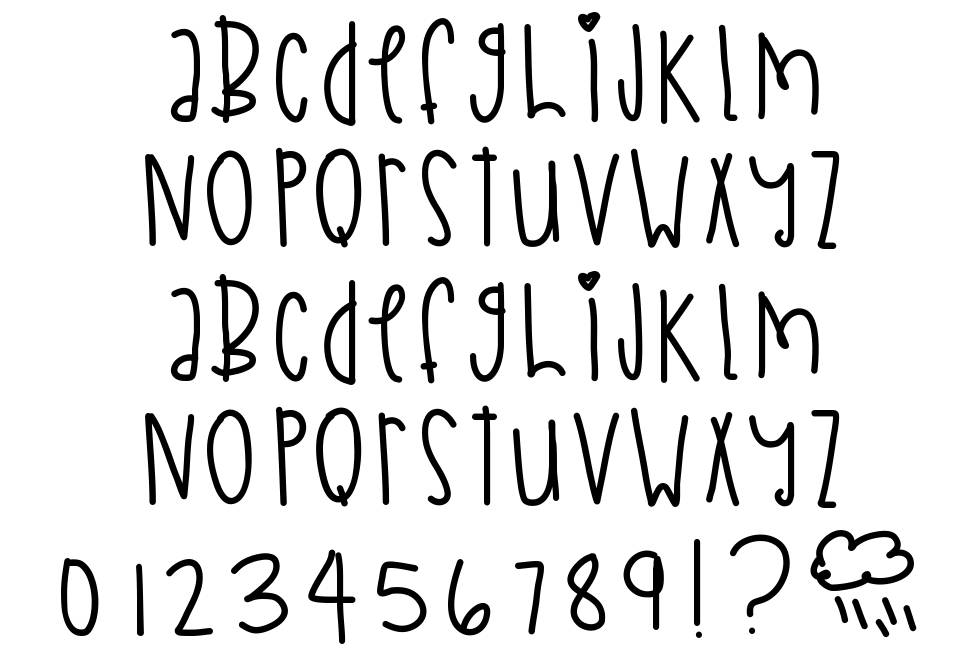 Chasing Time font
