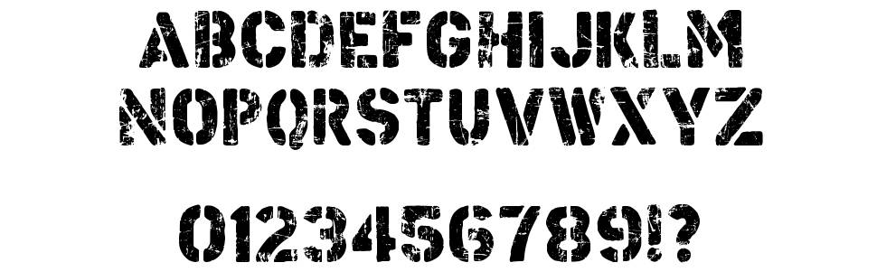 Checkpoint Charlie font