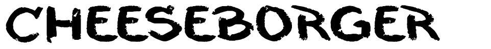 Cheeseborger шрифт