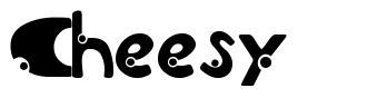 Cheesy font