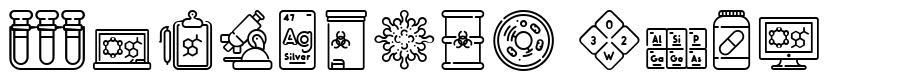Chemistry Icon fuente