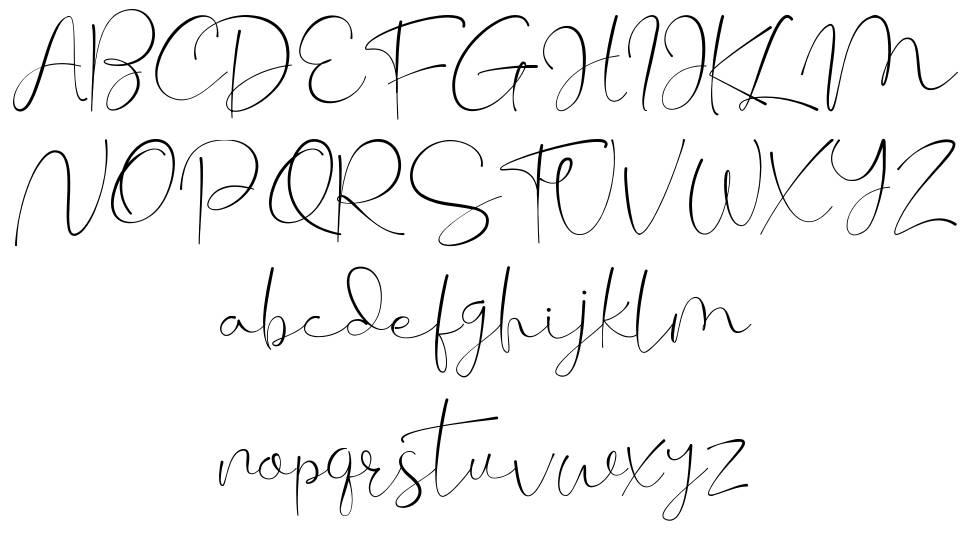 Cherissa font
