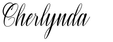 Cherlynda písmo