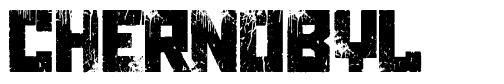 Chernobyl font