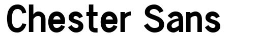 Chester Sans