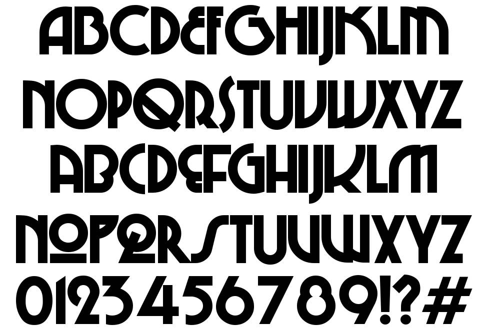 Chi-Town font