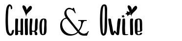 Chiko & Owlie font
