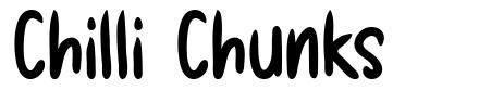 Chilli Chunks font
