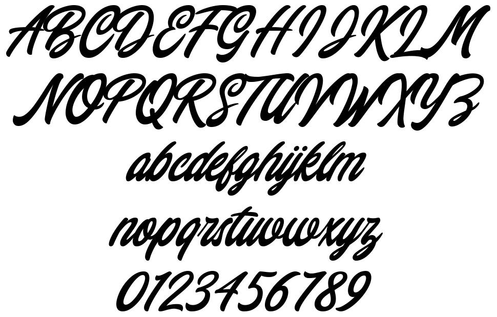Chillout font