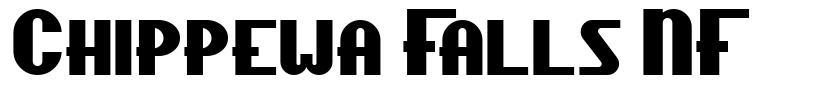 Chippewa Falls NF font