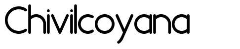 Chivilcoyana font