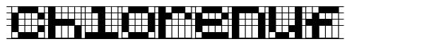 Chlorenuf font