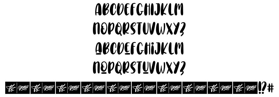 Choco Letter font