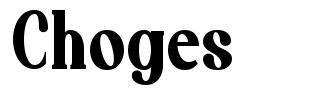 Choges