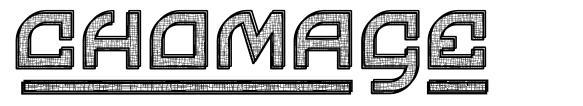 Chomage font