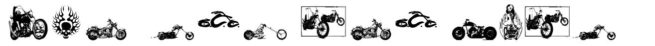 Choppers for Life font