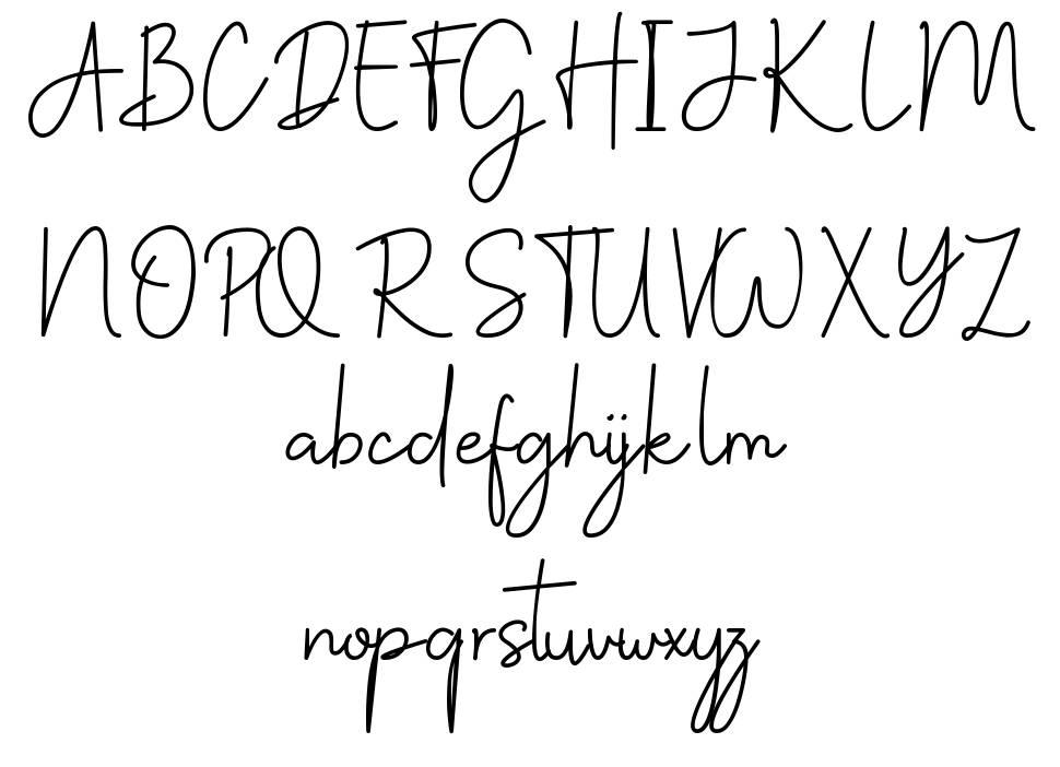 Christine Stylish font