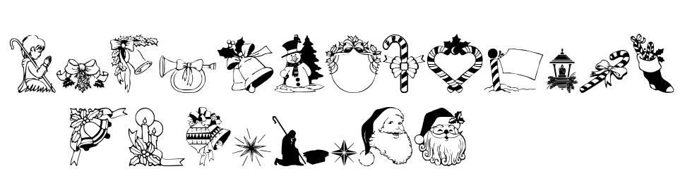 Christmas3 font