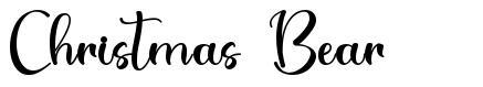 Christmas Bear font