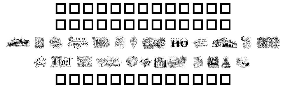 Christmas Cheer font