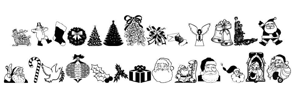 Christmas Debbie font
