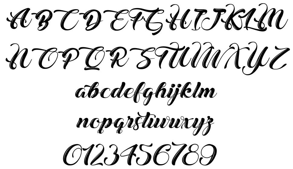 Christmas in Finland font