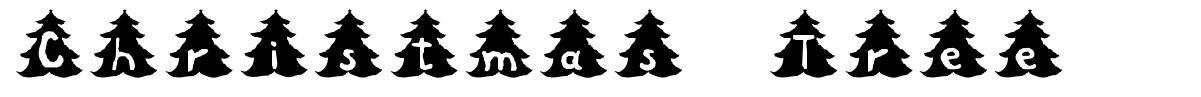 Christmas Tree 字形
