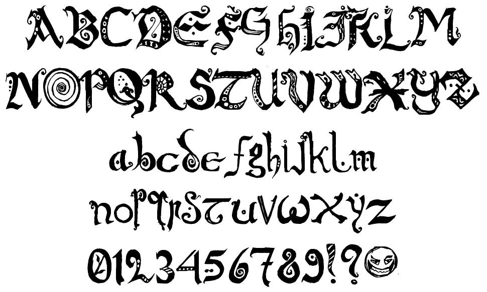 Chronicles of Arkmar font